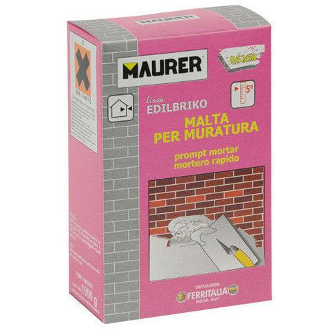Caja 1 kg. Maurer 14010355 Edil Enlucido R/ápido Maurer